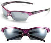 Smith Optics Women's 'Approach' 62Mm Interchangeable Lens Sunglasses - Violet/ Platinum/ Clear