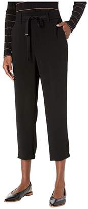 Vince Easy Pull-On Pants (Black) Women's Casual Pants
