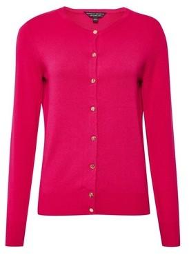 Dorothy Perkins Womens Hot Pink Cardigan, Pink