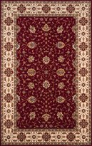 Momeni Rugs PERGAPG-08BUR80A0 Persian Garden Collection, 100% New Zealand Wool Traditional Area Rug