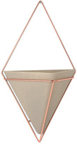 Umbra Trigg Large Copper Wall Planter
