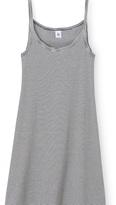 Petit Bateau Womens cotton nightdress with milleraies stripes