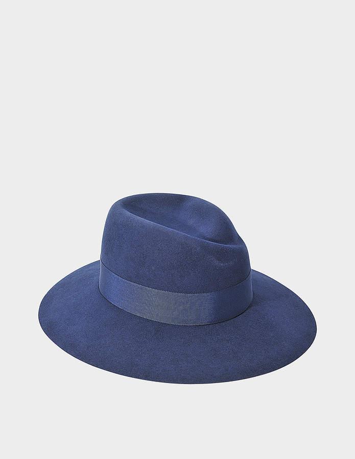 Maison Michel Virginie Large Brim Hat