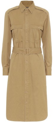 Polo Ralph Lauren Cotton-twill shirt dress