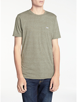 Denham Crew Neck T-shirt, Mountain Green