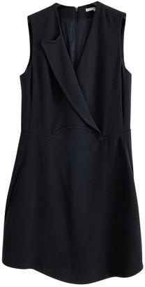Carven Navy Viscose Dresses