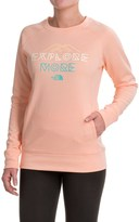 The North Face Explore More Sweatshirt - Crew Neck (For Women)