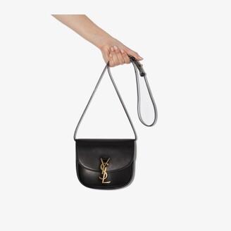 Saint Laurent black Kaia small leather shoulder bag