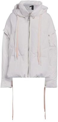 KHRISJOY Snap-Off Hood Puffer Jacket