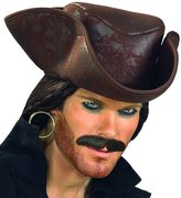 Rubie's Costume Co Caribbean Pirate Hat