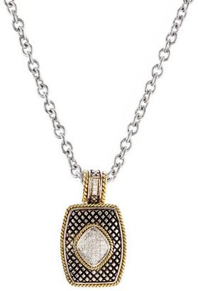 Candela Andrea 18K & Silver 0.19 Ct. Tw. Diamond Pendant Necklace