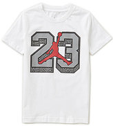Jordan Big Boys 8-20 Superstar Level Short-Sleeve Knit Graphic Tee