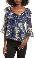 Band of Gypsies Tiger Lily Blouse