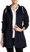 Laundry by Shelli Segal Hooded Four Pocket Anorak