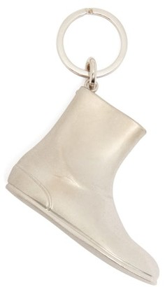 Maison Margiela Tabi Boot Key Ring - Womens - Silver
