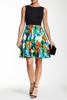 Taylor Floral Flare Dress 8323M
