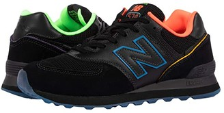 New Balance Classics Zappos 20th x ML574ZP (Black/Blue) Shoes