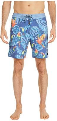 Rip Curl Habitat Layday (Blue) Men's Swimwear