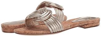Alexandre Birman Sue Flat (Golden) Women's Shoes