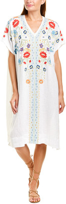 Johnny Was Maldine Linen Tunic Dress
