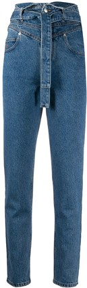 ATTICO High Rise Skinny Jeans