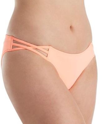 Smart & Sexy Women's swim secret strappy cheeky swim bottom