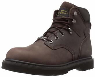 AdTec Ad Tec Men's 6-Inch Steel-Toe Work Boot Brown