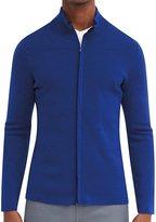EFM Men's Cavalier Zip Front Sweater - Cobalt