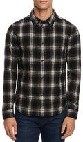 NATIVE YOUTH Brant Plaid Slim Fit Button Down Shirt