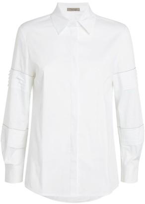 D-Exterior D.Exterior Pleat-Sleeve Shirt