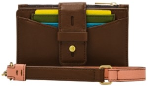 Fossil Women's Willa Small Tab Leather Wallet