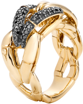 John Hardy Bamboo Ring with Diamonds
