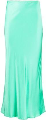 Andamane High-Waisted Midi Skirt