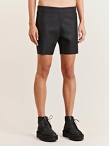 Women's Coated Felt Shorts