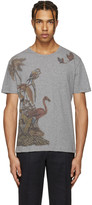 Valentino Grey Bird T-shirt