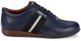 Bally Frenz Perforated Leather Runners