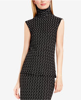 Vince Camuto Cable-Knit Turtleneck Top