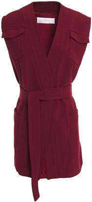 Victoria Victoria Beckham Belted Crepe Vest