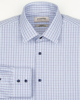 Le Château Check Cotton Tailored Fit Shirt