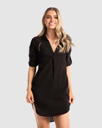 Deshabille The Hamptons Shirt Dress