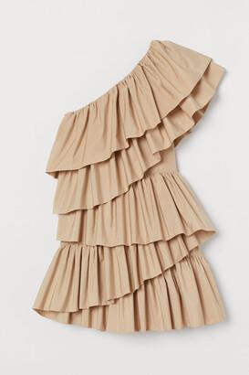 H&M Ruffled Cocktail Dress