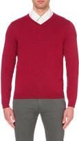 HUGO BOSS Regular-fit wool jumper