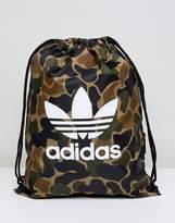 adidas Drawstring Bag In Camo CD6099