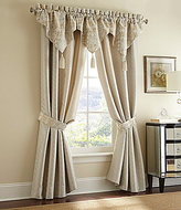Waterford Olivette Medallion & Herringbone Window Treatments
