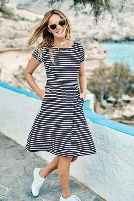Boden Womens Blue Amelie Jersey Dress - Blue