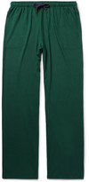 Derek Rose Basel Stretch-micro Modal Jersey Pyjama Trousers - Emerald
