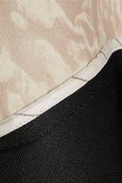 Antonio Berardi Asymmetric satin-twill mini skirt