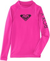Quiksilver Girls Whole Hearted Long Sleeve Surf T-Shirt