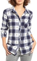 Rip Curl Women's Stardust Plaid Flannel Shirt