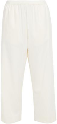 MM6 MAISON MARGIELA Cropped Twill Straight-leg Pants